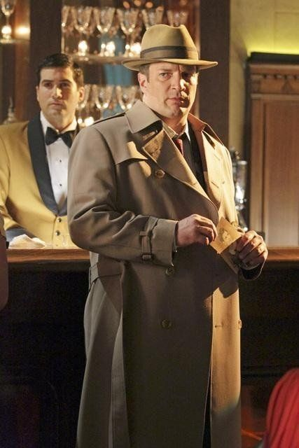 Nathan Fillion in Castle - The Blue Butterfly