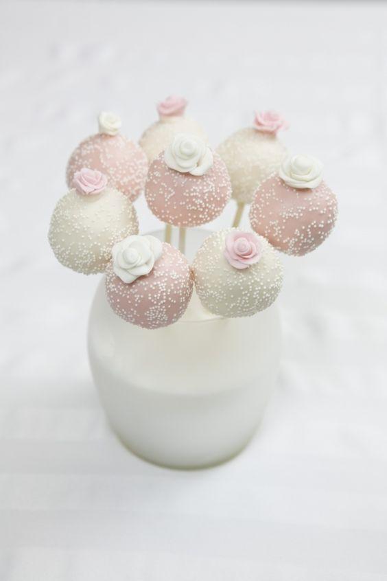 Wedding Cake Pops   #timelesstreasure