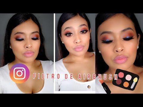 Recreando Filtro De Maquillaje Fácil De Hacer Youtube Maquillaje Videos Maquillaje Youtube