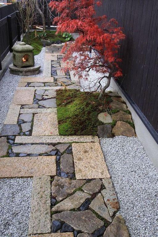 20+ Traditional Courtyard Garden Design Ideas In Japanese Style