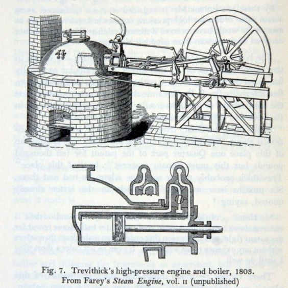 richard trevethick essay In the same year, trevethick used the first high pressure locomotive, and symington ran a steam-boat in the firth of clyde in 1814 george stephenson invented his loco.