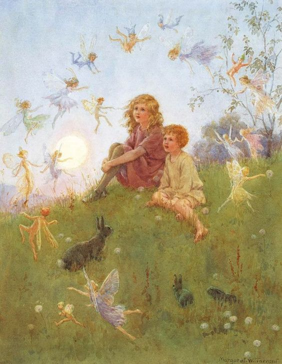 Do You Believe in Fairies by Margaret Tarrant (1888- 1959)