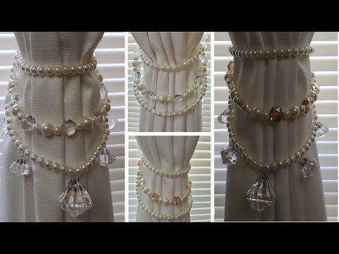 Dollar Tree Diy Glam Curtain Tie Backs Giveaway Hobbylobby Diy