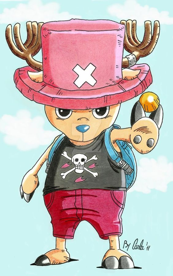 Tony Tony Chopper by airforlife2011 on DeviantArt
