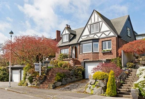 Another gorgeous storybook #tudor inspired home in #Seattle #Washington