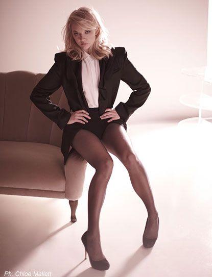 Natalie Dormer Stockings