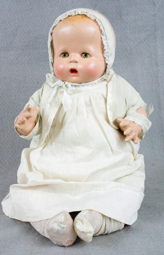 """USA, 1930-1940 ~ Love these old """"Baby"""" dolls!:"""