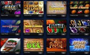Wer auf Automatenspiele steht, der wird sicherlich schon einmal auf die Merkur Spiele gestoßen sein. Seit gut 2 Jahren können diese Slots nun endlich auch Online gespielt werden und auf http://www.merkur-spiele.net/ findet Ihr ALLE Merkur Spiele beschrieben - Klasse Sache!