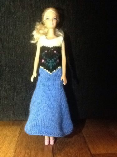 Anna Dress For Barbie or Sindy - SOLD
