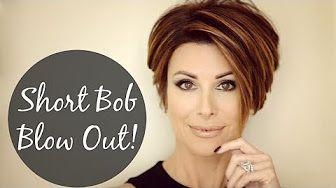 How Do I Style Hair on an Older Woman? : Great Hair Styling Advice - YouTube