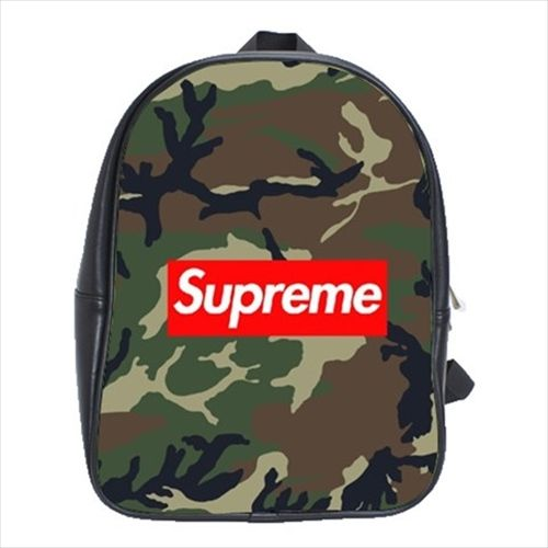 New A Bathing Ape Camouflage Army Backpack Bape High Quality Laptop School Bag