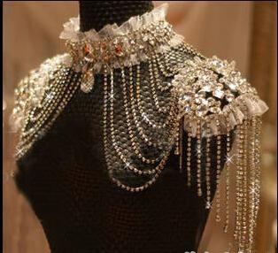 Women Diamond Rings Real Image Luxury 2015 Bridal Jewelry Shoulder Chain Korean Alloy Rhinestone Wedding Accessories Body Chain Wedding Jewelry Pearl Sets From Dressseller, $29.32| Dhgate.Com