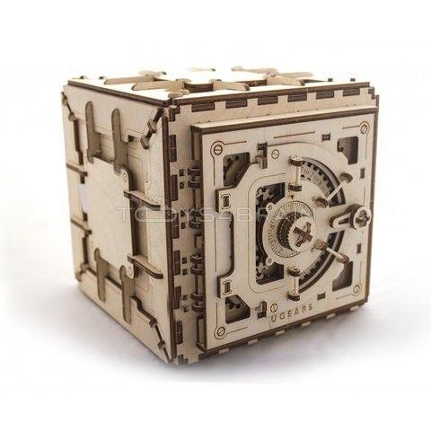Caja Fuerte De Madera Para Construir Tu Mismo Lo Tienen En La Comarca De Los Juegos Rompecabezas De Madera Caja De Rompecabezas Materiales De Madera