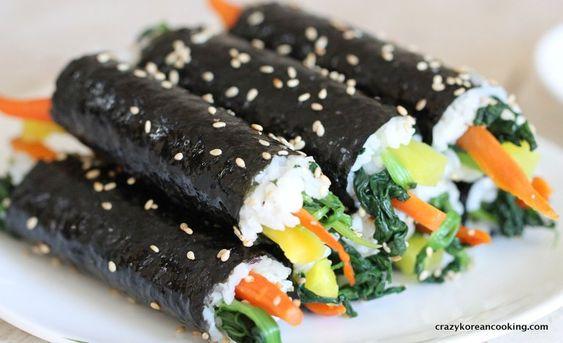 How to make Mini Mayak Gimbap, Korean Seaweed Rice Roll | Crazy Korean Cooking