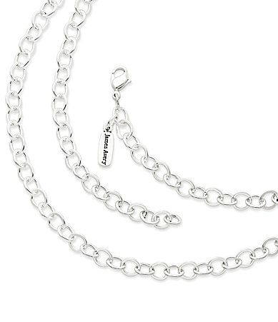 James Avery Forged Link Charm Necklace #Dillards
