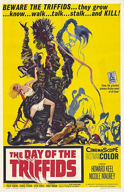 Day Of Triffids 1962 Wyndham Horror Movie Posters Movie