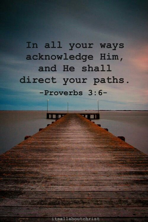 Direct my path Lord!!