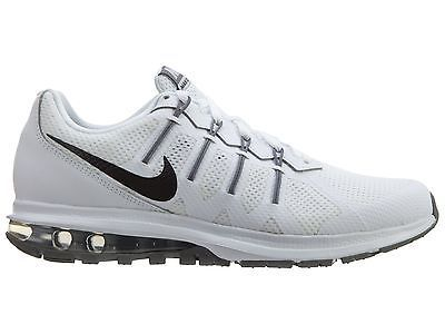 Nike Air Max Dynasty Mens 816747-100 White Black Grey Running Shoes Size 10.5