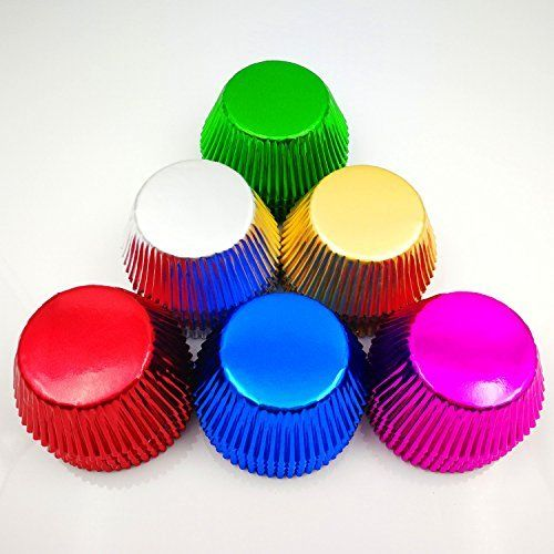 Foil Cupcake Liners Kylin Glory Aluminum Foil Muffin Baking Cups