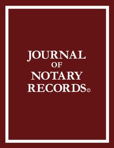 Notary Public Journal. Burgundy Cover. 55 Pages (3 records on each page. 8 1/2 x 11. Completely bounded (recommended or required by most states) #NotaryPublicJournal #NotaryPublicRecordBook #Notary #Journal #NotaryRecordBook #RecordBook