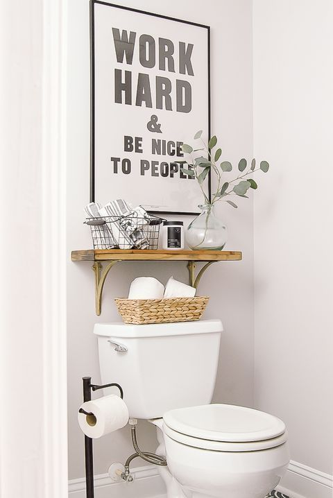 Over The Toilet Storage Bathroom Shelves Small Bathroom Decor