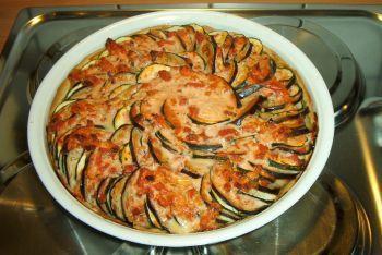 Foto Rezept Zucchini-Auberginen-Quiche