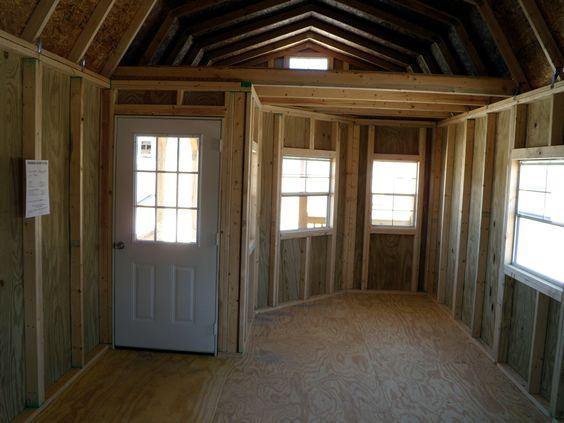 Derksen Portable Deluxe Lofted Barn Cabin Home Repairs