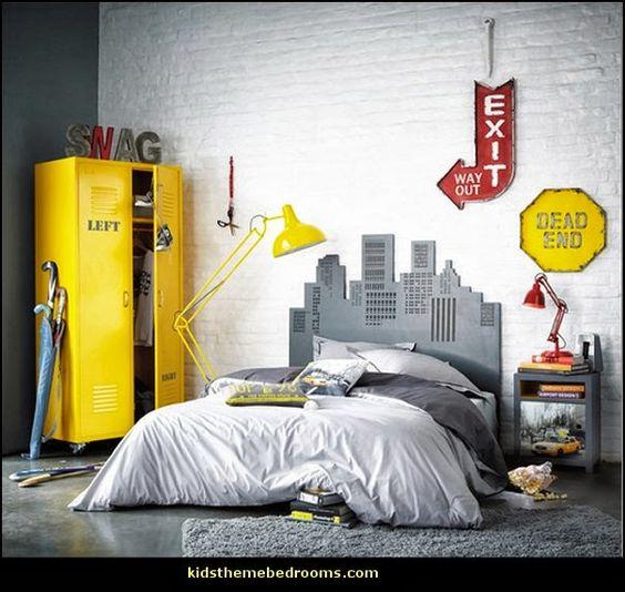 urban stye industrial themed