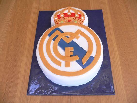 Sabor a tentación - Fondant Vigo Repostería Creativa Tartas Decoradas: Tarta Real Madrid