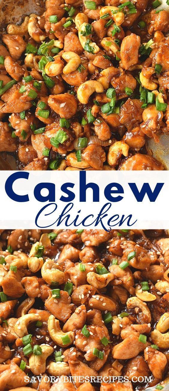 Best Ever Cashew Chicken Recipe!