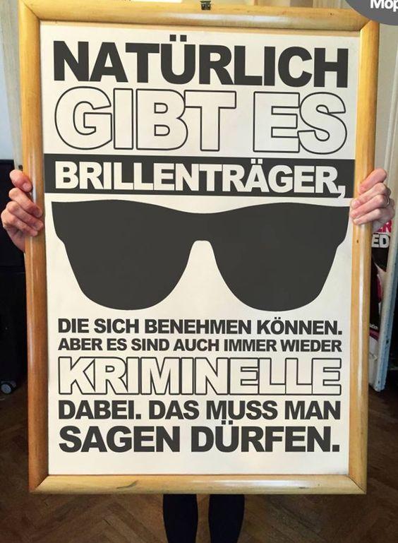 #auch unter brillenträgern...