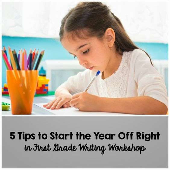 Ms. Lilypad's Primary Pond: Starting off the year with first grade writing workshop - great tips to follow and remember!