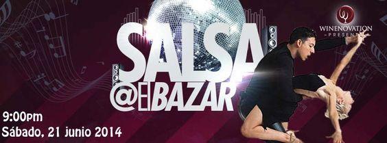 Salsa @ El Bazar, Barceloneta #sondeaquipr #elbazar #winenovation #premiumoutlets #barceloneta