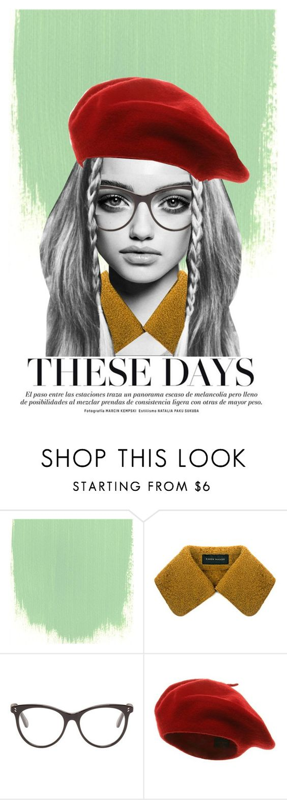 """""""Collage Untitled"""" by reasonwhynatalia-smiles ❤ liked on Polyvore featuring Trowbridge, Karen Walker and STELLA McCARTNEY"""