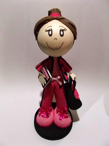 Bonecos Personalizados 3D em E.V.A - Professora de Educação Fisica 102498630180302518149 - Álbuns Web Picasa