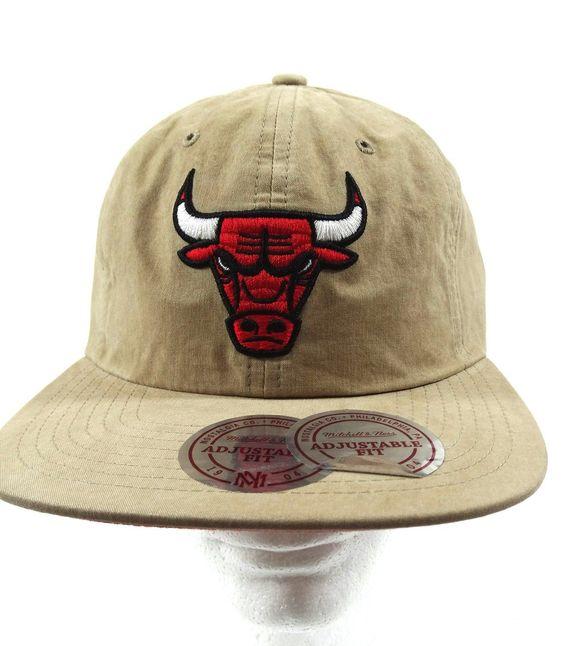 Chicago Bulls 2016 Mitchell & Ness Buckle Back Cap