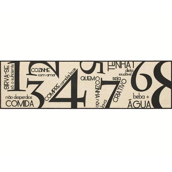 Passadeira antiderrapante Special Day Leis da Cozinha 50 x 180 cm - 0035195.4 @ Utilplast