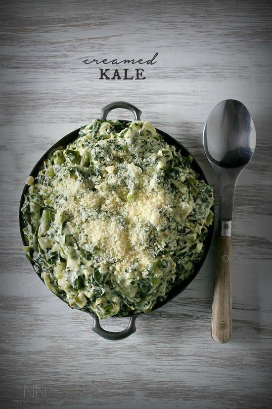 11. Creamed Kale | Nutmeg Nanny