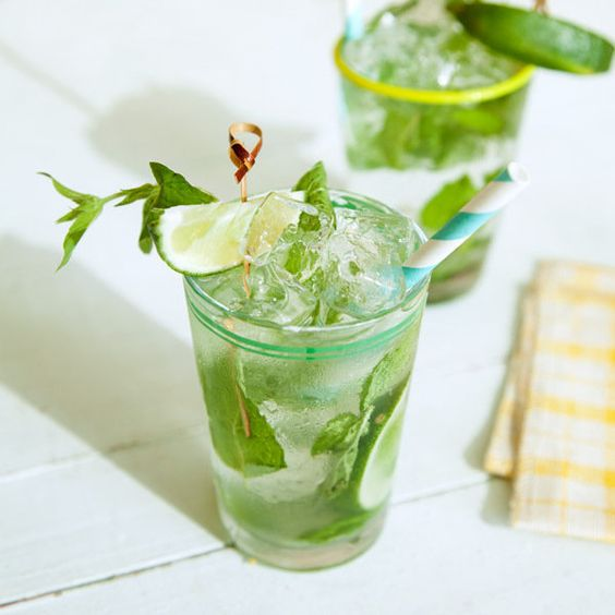Cucumber, Mint and Basil Soda | Refreshing Homemade Soda Recipes Perfect This Summer | soda juice recipes
