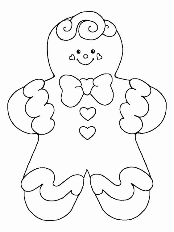 Gingerbread Girl Coloring Page Inspirational Gingerbread Zelf