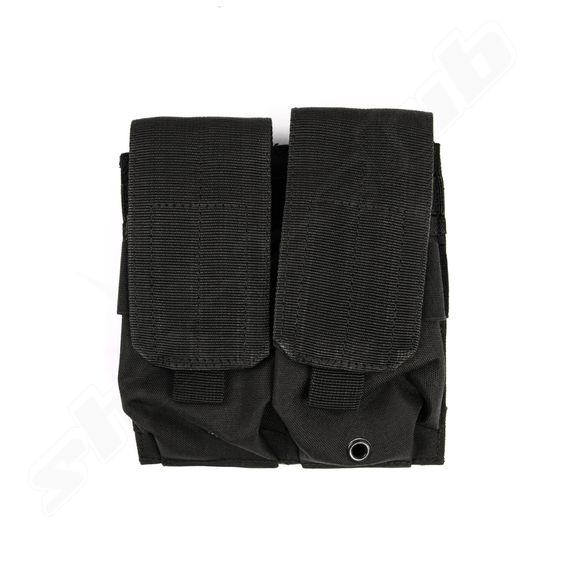 Mil-Tec Magazintasche 2 fach M4 Magazin schwarz BK
