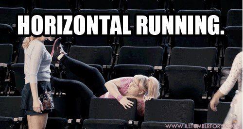 Horizontal Running.