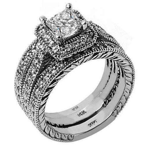 Engagement Wedding Ring Sets Jared Plus Travel Jewellery Organizer Australia Les In 2020 Halo Wedding Bands Engagement Wedding Ring Sets Wedding Rings Engagement