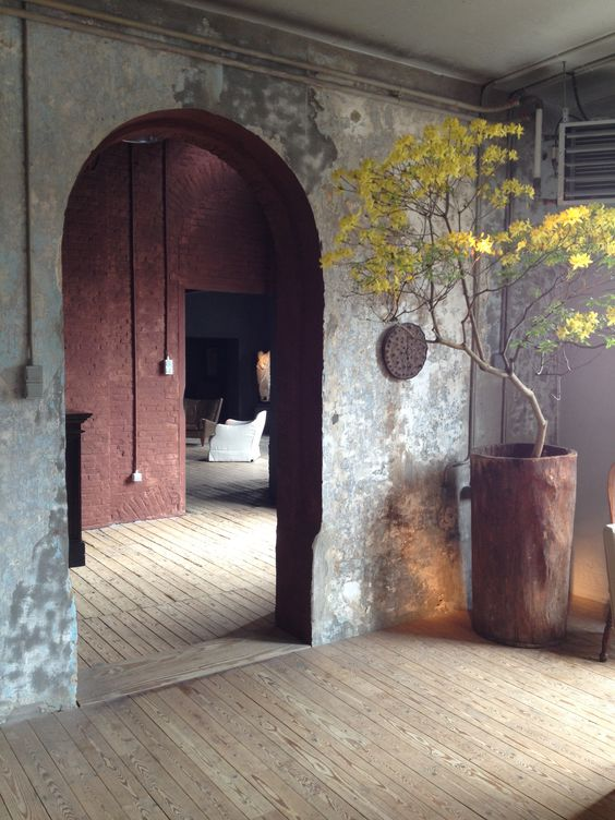 Interior by design mastermind Axel Vervoordt @ Het Kanaal in Wommelgem, Antwerp