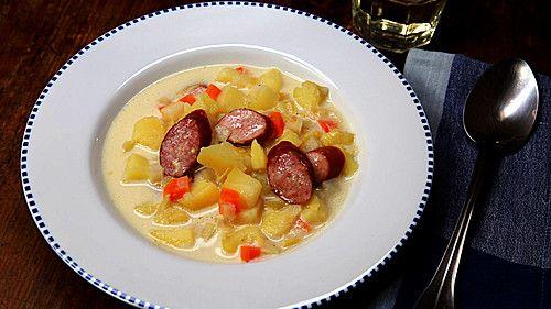 Einfache Kartoffelsuppe, ein schönes Rezept aus der Kategorie Kochen. Bewertungen: 178. Durchschnitt: Ø 4,5.
