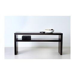 Lack Console Table Black Brown Entryway Ikea Dining