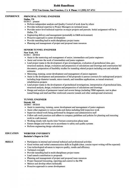 Geotechnical Engineering Resume Examples Engineering Resume Resume Examples Career Change Resume