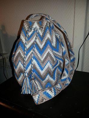 Tas gemaakt door Audrey Fial-Bos: