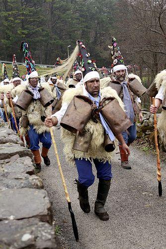 La Vinajera de Silió  Carnaval ancestral Cantabria  Spain