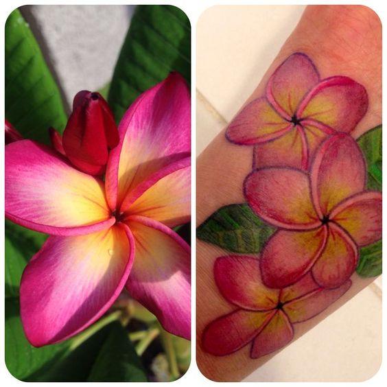 Plumeria Flower Tattoo: Plumeria Tattoo